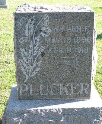 PLUCKER, WILBUR F. - Turner County, South Dakota | WILBUR F. PLUCKER - South Dakota Gravestone Photos