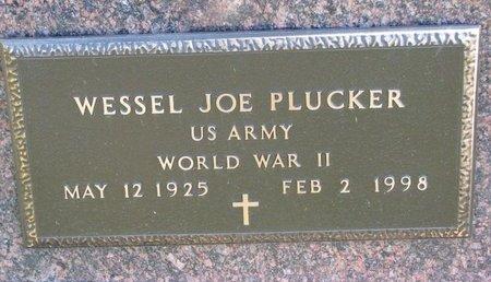 PLUCKER, WESSEL JOE (MILITARY) - Turner County, South Dakota   WESSEL JOE (MILITARY) PLUCKER - South Dakota Gravestone Photos