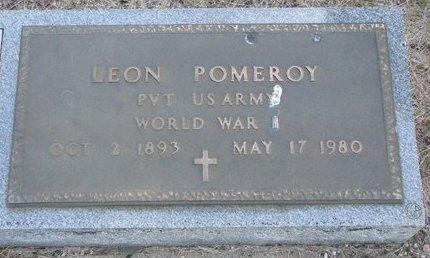 POMEROY, LEON - Turner County, South Dakota | LEON POMEROY - South Dakota Gravestone Photos