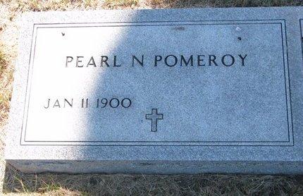 POMEROY, PEARL N. - Turner County, South Dakota   PEARL N. POMEROY - South Dakota Gravestone Photos