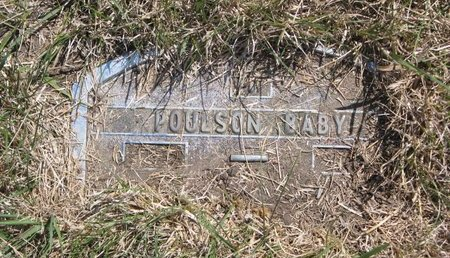POULSON, BABY - Turner County, South Dakota | BABY POULSON - South Dakota Gravestone Photos