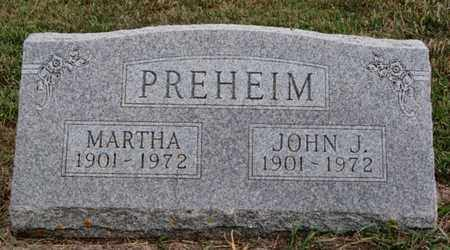 PREHEIM, MARTHA - Turner County, South Dakota | MARTHA PREHEIM - South Dakota Gravestone Photos