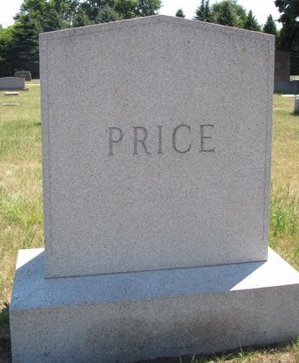 PRICE, *FAMILY MONUMENT - Turner County, South Dakota | *FAMILY MONUMENT PRICE - South Dakota Gravestone Photos