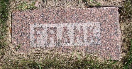 PRINBLOW, FRANK W. (FOOTSTONE) - Turner County, South Dakota   FRANK W. (FOOTSTONE) PRINBLOW - South Dakota Gravestone Photos
