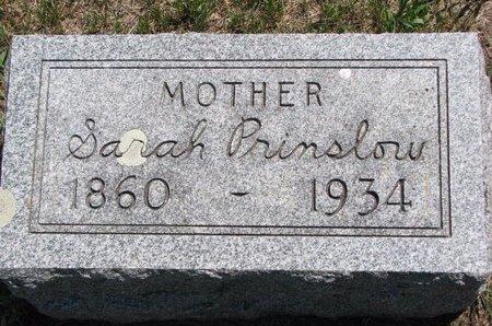 PRINSLOW, SARAH - Turner County, South Dakota   SARAH PRINSLOW - South Dakota Gravestone Photos