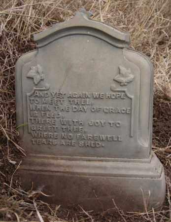 PUTERBAUGH REAR VIEW, GEORGE - Turner County, South Dakota   GEORGE PUTERBAUGH REAR VIEW - South Dakota Gravestone Photos
