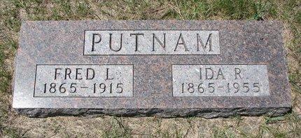 PUTNAM, FRED L. - Turner County, South Dakota | FRED L. PUTNAM - South Dakota Gravestone Photos