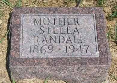 RANDALL, STELLA - Turner County, South Dakota | STELLA RANDALL - South Dakota Gravestone Photos