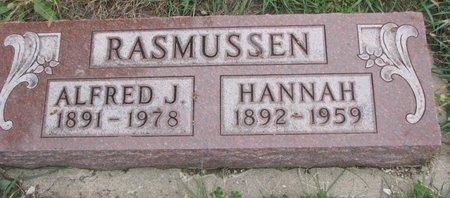 RASMUSSEN, HANNAH - Turner County, South Dakota | HANNAH RASMUSSEN - South Dakota Gravestone Photos