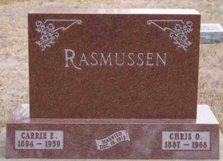 RASMUSSEN, CARRIE E - Turner County, South Dakota   CARRIE E RASMUSSEN - South Dakota Gravestone Photos