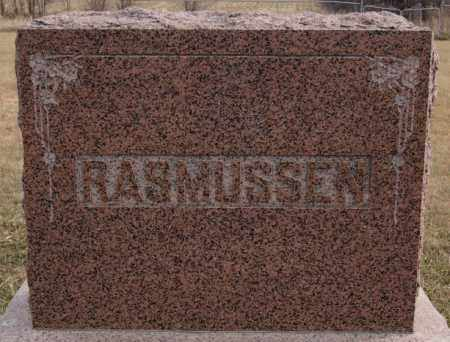 RASMUSSEN, FAMILY MARKER - Turner County, South Dakota | FAMILY MARKER RASMUSSEN - South Dakota Gravestone Photos
