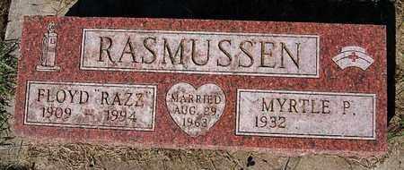 RASMUSSEN, MYRTLE P - Turner County, South Dakota | MYRTLE P RASMUSSEN - South Dakota Gravestone Photos