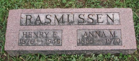 RASMUSSEN, ANNA M. - Turner County, South Dakota | ANNA M. RASMUSSEN - South Dakota Gravestone Photos