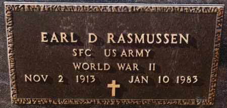 RASMUSSEN, EARL D (WWII) - Turner County, South Dakota | EARL D (WWII) RASMUSSEN - South Dakota Gravestone Photos