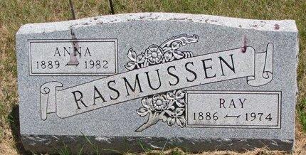 RASMUSSEN, ANNA - Turner County, South Dakota | ANNA RASMUSSEN - South Dakota Gravestone Photos
