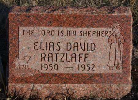 RATZLAFF, ELIAS DAVID - Turner County, South Dakota | ELIAS DAVID RATZLAFF - South Dakota Gravestone Photos