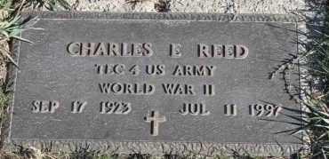 REED, CHARLES E (WWII) - Turner County, South Dakota | CHARLES E (WWII) REED - South Dakota Gravestone Photos