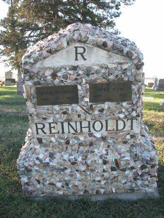 REINHOLDT, ANNA THEA - Turner County, South Dakota | ANNA THEA REINHOLDT - South Dakota Gravestone Photos