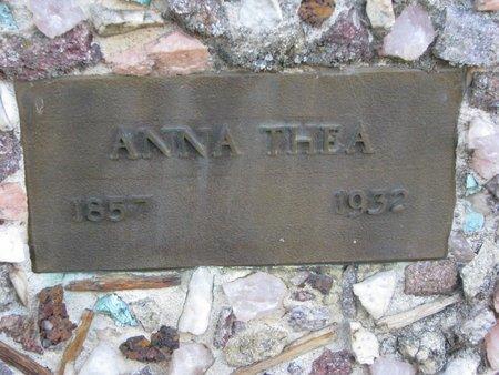 REINHOLDT, ANNA THEA (CLOSE UP) - Turner County, South Dakota | ANNA THEA (CLOSE UP) REINHOLDT - South Dakota Gravestone Photos