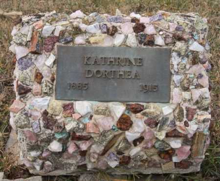 REINHOLDT, KATHRINE DORTHEA - Turner County, South Dakota   KATHRINE DORTHEA REINHOLDT - South Dakota Gravestone Photos