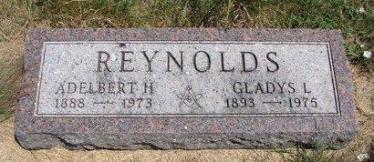 REYNOLDS, ADELBERT H. - Turner County, South Dakota   ADELBERT H. REYNOLDS - South Dakota Gravestone Photos