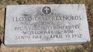 REYNOLDS, LLOYD DELL - Turner County, South Dakota | LLOYD DELL REYNOLDS - South Dakota Gravestone Photos
