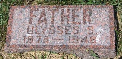 REYNOLDS, ULYSSES S - Turner County, South Dakota | ULYSSES S REYNOLDS - South Dakota Gravestone Photos