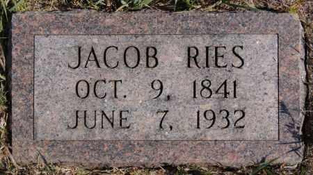 RIES, JACOB - Turner County, South Dakota   JACOB RIES - South Dakota Gravestone Photos