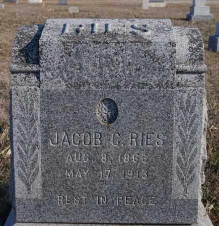 RIES, JACOB C - Turner County, South Dakota | JACOB C RIES - South Dakota Gravestone Photos