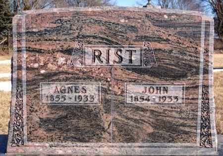 RIST, JOHN - Turner County, South Dakota | JOHN RIST - South Dakota Gravestone Photos