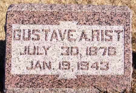 RIST, GUSTAVE A - Turner County, South Dakota | GUSTAVE A RIST - South Dakota Gravestone Photos