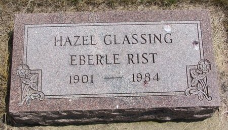 GLASSING RIST, HAZEL - Turner County, South Dakota | HAZEL GLASSING RIST - South Dakota Gravestone Photos