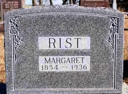 RIST, MARGARET - Turner County, South Dakota | MARGARET RIST - South Dakota Gravestone Photos