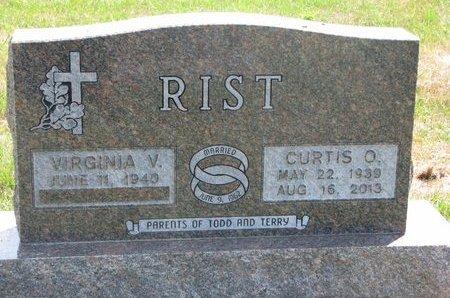 RIST, VIRGINIA V. - Turner County, South Dakota | VIRGINIA V. RIST - South Dakota Gravestone Photos