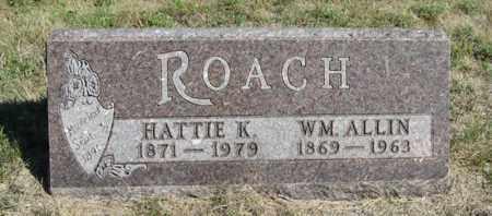 ROACH, HATTIE K. - Turner County, South Dakota | HATTIE K. ROACH - South Dakota Gravestone Photos
