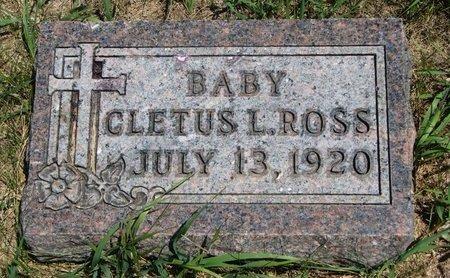 ROSS, CLETUS L. - Turner County, South Dakota   CLETUS L. ROSS - South Dakota Gravestone Photos