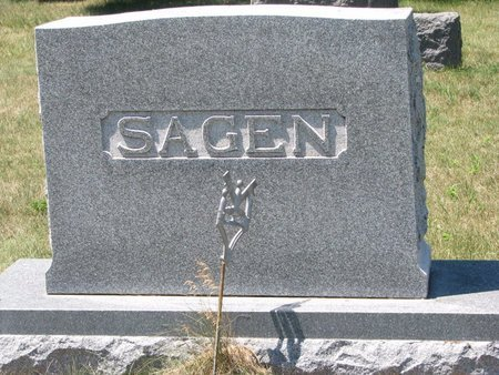 SAGEN, *FAMILY MONUMENT - Turner County, South Dakota | *FAMILY MONUMENT SAGEN - South Dakota Gravestone Photos