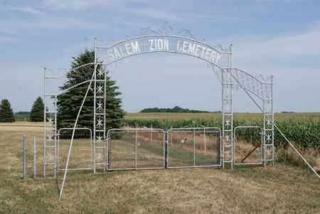 *SALEM ZION CEMETERY, GATE - Turner County, South Dakota | GATE *SALEM ZION CEMETERY - South Dakota Gravestone Photos