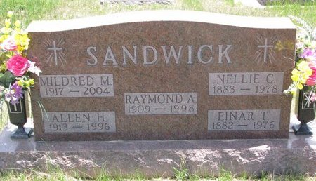 SANDWICK, ALLEN H. - Turner County, South Dakota | ALLEN H. SANDWICK - South Dakota Gravestone Photos