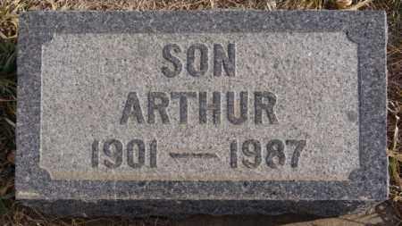 SATTER, ARTHUR - Turner County, South Dakota | ARTHUR SATTER - South Dakota Gravestone Photos