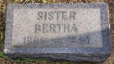 SATTER, BERTHA - Turner County, South Dakota | BERTHA SATTER - South Dakota Gravestone Photos