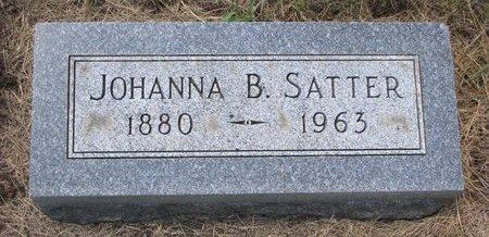 SKONHOVD SATTER, JOHANNA BERTHENA - Turner County, South Dakota   JOHANNA BERTHENA SKONHOVD SATTER - South Dakota Gravestone Photos