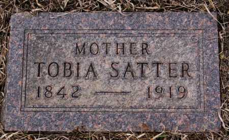 SATTER, TOBIA - Turner County, South Dakota | TOBIA SATTER - South Dakota Gravestone Photos