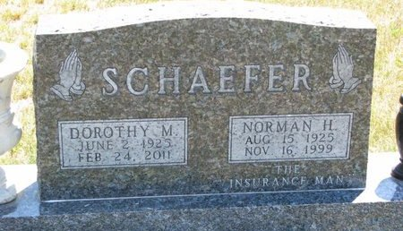SCHAEFER, NORMAN H. - Turner County, South Dakota   NORMAN H. SCHAEFER - South Dakota Gravestone Photos