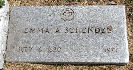 SCHENDEL, EMMA A. - Turner County, South Dakota | EMMA A. SCHENDEL - South Dakota Gravestone Photos