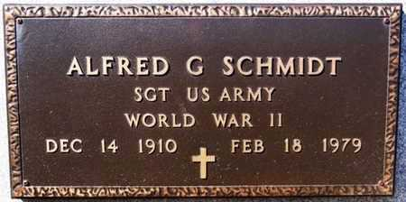 SCHMIDT, ALFRED G (WWII) - Turner County, South Dakota | ALFRED G (WWII) SCHMIDT - South Dakota Gravestone Photos