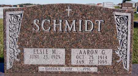 SCHMIDT, AARON G - Turner County, South Dakota   AARON G SCHMIDT - South Dakota Gravestone Photos