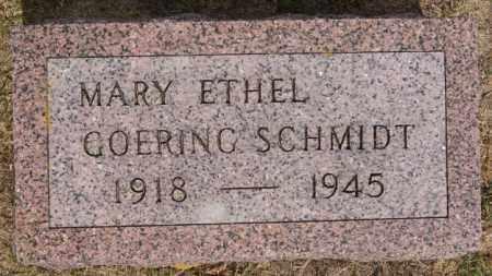 SCHMIDT, MARY ETHEL - Turner County, South Dakota | MARY ETHEL SCHMIDT - South Dakota Gravestone Photos
