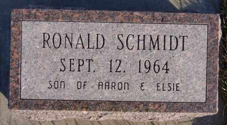 SCHMIDT, RONALD - Turner County, South Dakota | RONALD SCHMIDT - South Dakota Gravestone Photos