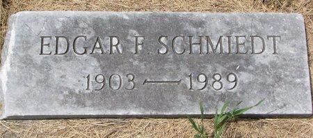 SCHMIEDT, EDGAR F. - Turner County, South Dakota | EDGAR F. SCHMIEDT - South Dakota Gravestone Photos